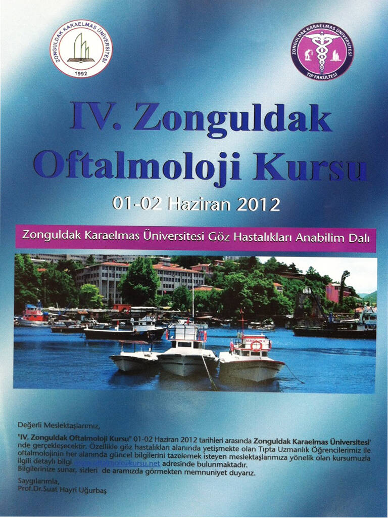 4. Oftalmoloji Kursu 2011