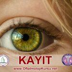 oftalmoloji  kursu kayit
