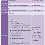 XI. Oftalmoloji Kursu Bilimsel Program 18 Mayis 2019